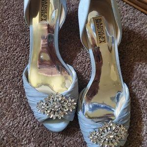 Badgley Mischka Kitten heels
